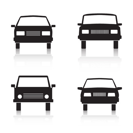 Cars vector icons
