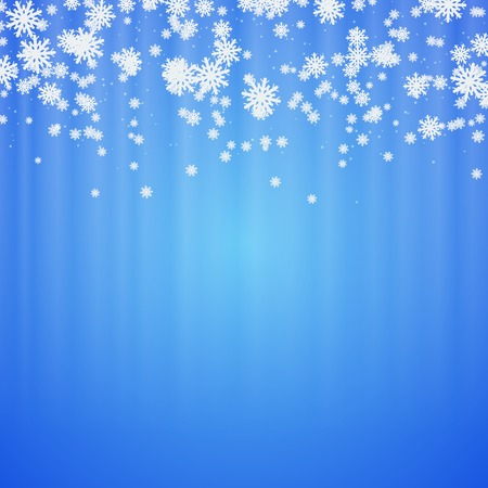 Christmas and New Year abstract blurry vector background Vectores