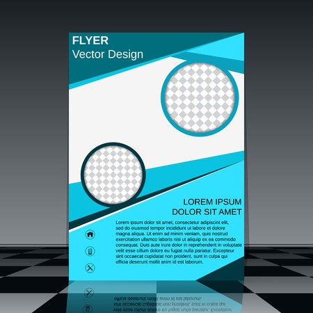 Brochure vector template