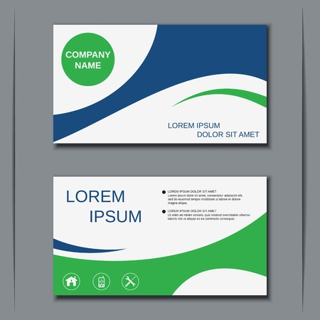 Modern business visiting card design template royalty free cliparts modern business visiting card design template stock vector 46902788 wajeb Gallery