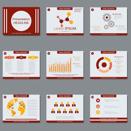flyer layout: Business presentation, slide show, brochure, booklet, flyer, layout, poster vector design template