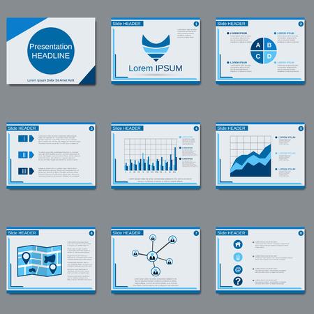 slides: Business presentation, slide show, brochure, booklet, flyer, layout, poster vector design template