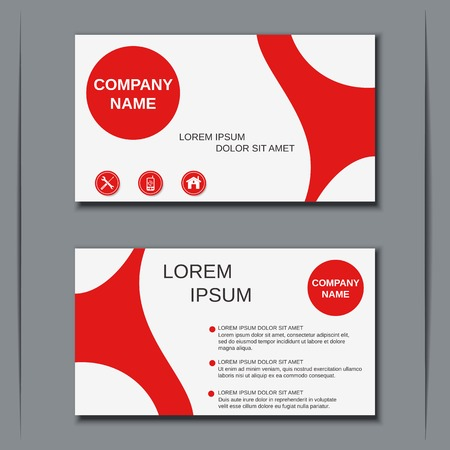 name: Visiting card, banner, badge, poster, sticker, coupon, voucher, label vector template Illustration