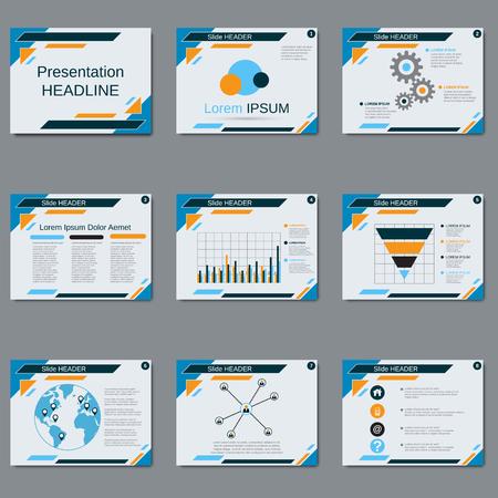 Professional business presentation slide show vector design professional business presentation slide show vector design template stock vector 79539863 accmission Choice Image