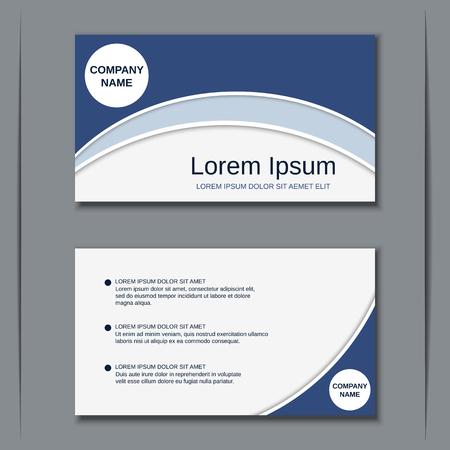 Business visiting card vector design templat