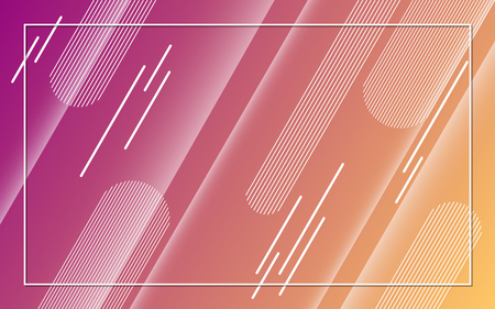 Abstract minimalistic colorful vector background