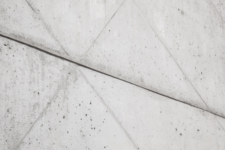 exposed concrete: wall of exposed concrete