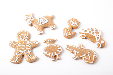 gingerbread cookies: gingerbread pastry - classic Christmas cookies