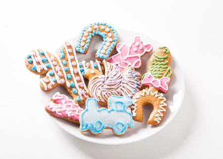 gingerbread pastry classic christmas cookies stock photo 59649976