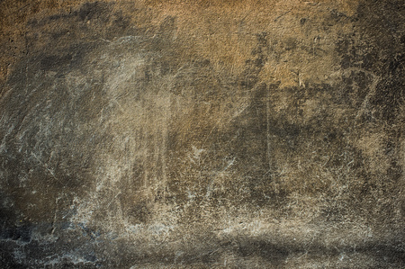 Old scratched wall, Graphic wall background, Old dark plaster, Scarified wall plaster, Unique texture of plaster