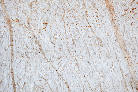 Limestone wall background, Stone structure, White stone texture detail