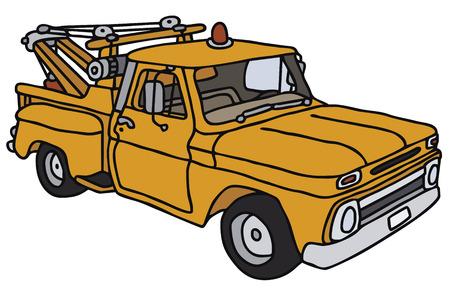 breakdown truck: Old vehicle breakdown service