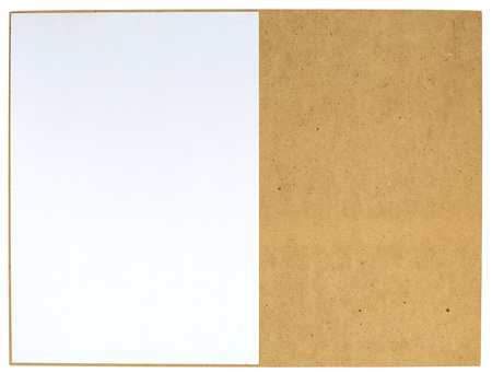 board: Paper on board Stock Photo