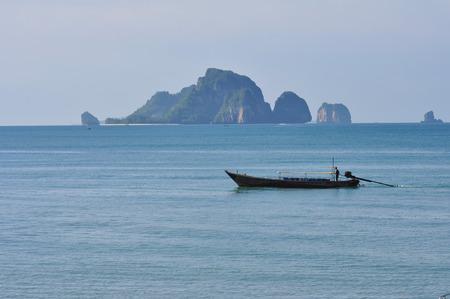 Tropical island, Krabi, Thailand Stock Photo