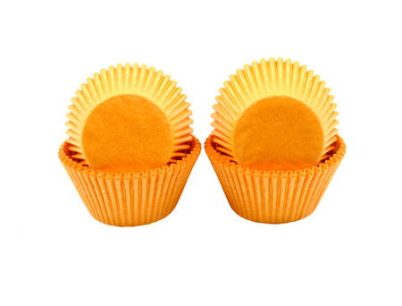 cases: Cup cake cases Stock Photo