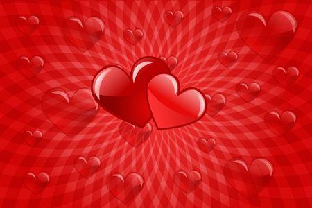sweetheart: heart love abstraction decorative pattern romance stylized sweetheart valentine Stock Photo