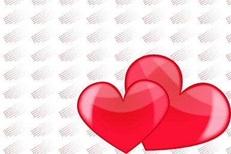 decoratively: heart love abstraction romance stylized sweetheart valentine valentines day art pretty woman decoration decoratively