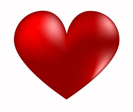 red heart Stock Photo - 6292257