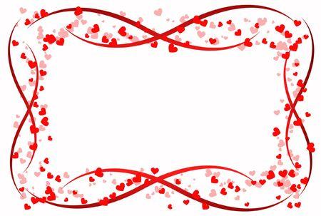 infatuation: scope heart love abstraction decorative pattern romance stylized sweetheart day valentine