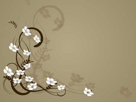 flower decoratively romantically abstraction illustration illustration