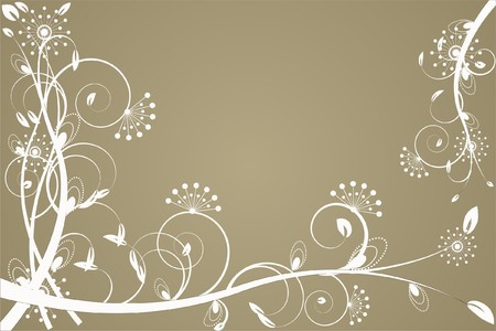 flower decoratively romantically abstraction illustration Stock Illustration - 7548621