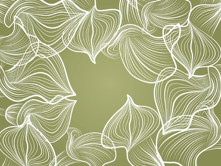 decoratively: decoratively abstraction creative flower pattern