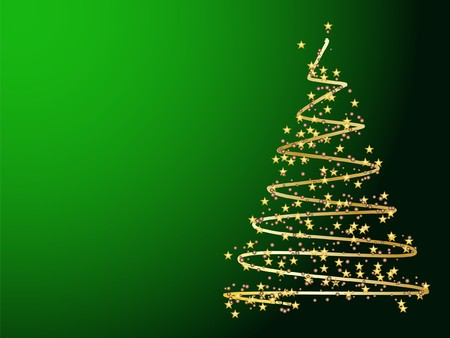 Christmas tree decorative abstraction background Stock Photo - 7772225