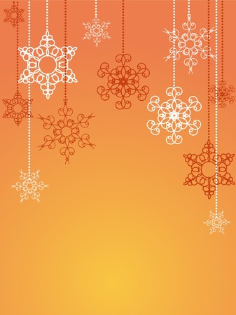 Christmas card decorative abstraction background Stock Photo - 7772248