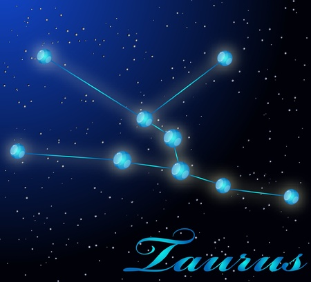 Taurus astrological horoscope Stock Vector - 8961183