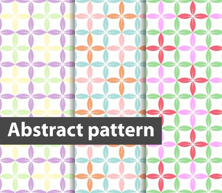 pied: abstract decorative pattern Illustration