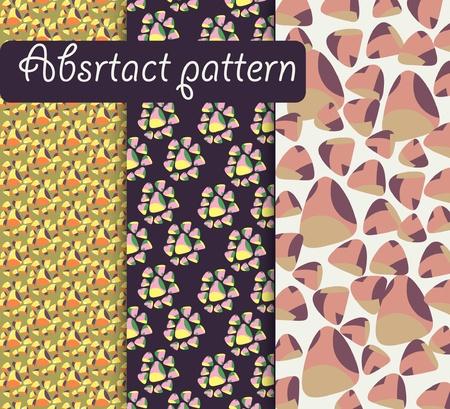 dekor: retro geometrical decorative pattern