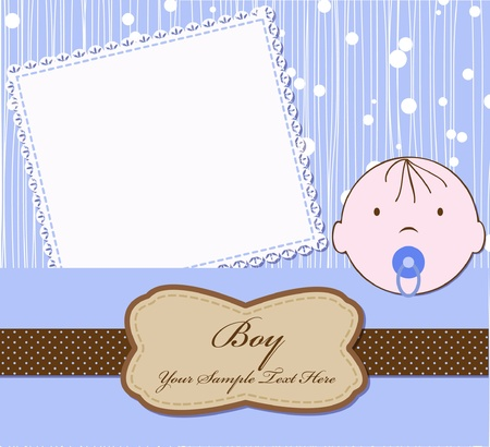 baby for scrapbook Stock Vector - 9647311
