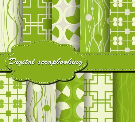 scrapbook paper: set of paper for scrapbook
