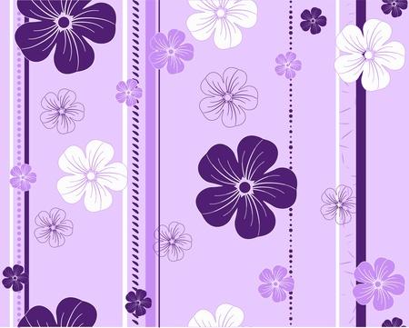 compendium: seamless flower pattern Illustration