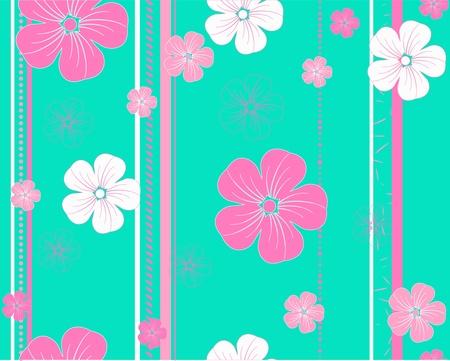 seamless flower pattern Ilustração