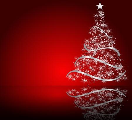 様式化されたクリスマス ツリー