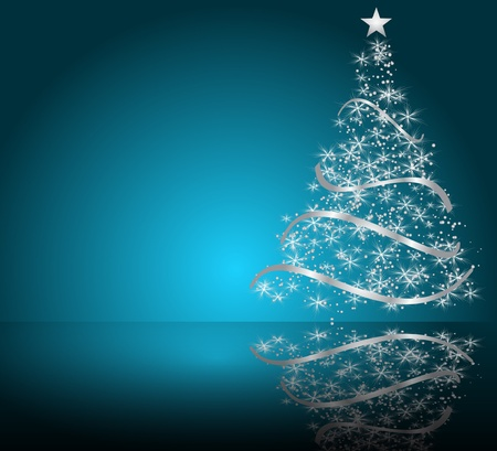 beautifully: stylized Christmas tree