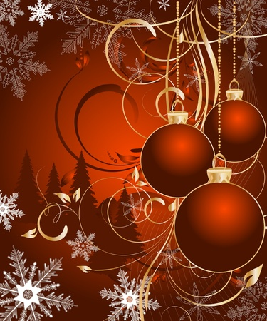 vector Christmas background  Stock Vector - 11479349