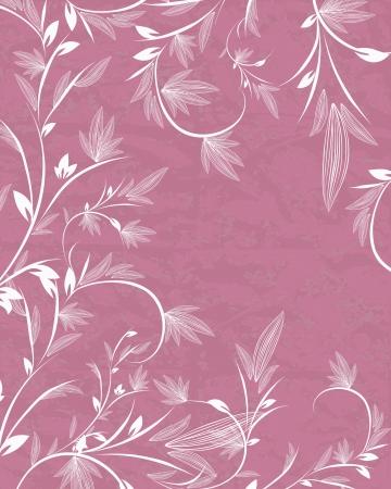 flower background for invitation Vector