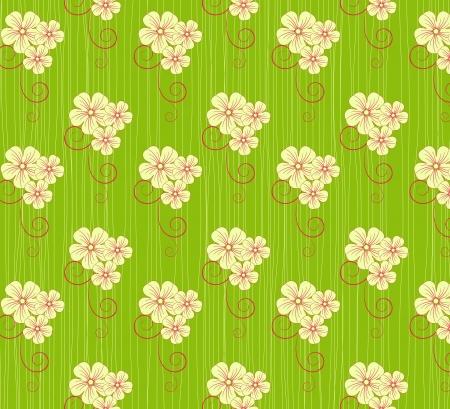 flower pattern background  Vector