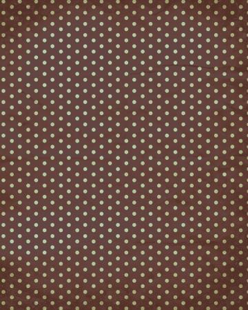 polka dot retro old paper background Vector