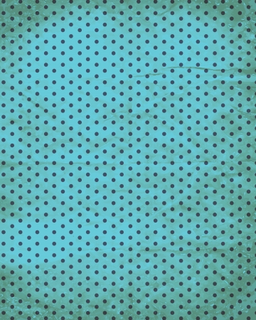 polka dot retro old paper background Vector