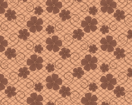 flower vector background Vector
