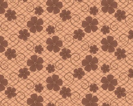 flower vector background Vector