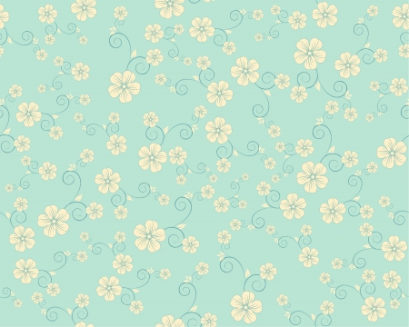 seamless flower pattern Stock Vector - 14724900