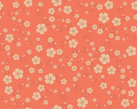 compendium: seamless flower pattern