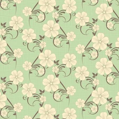 compendium: flower pattern background