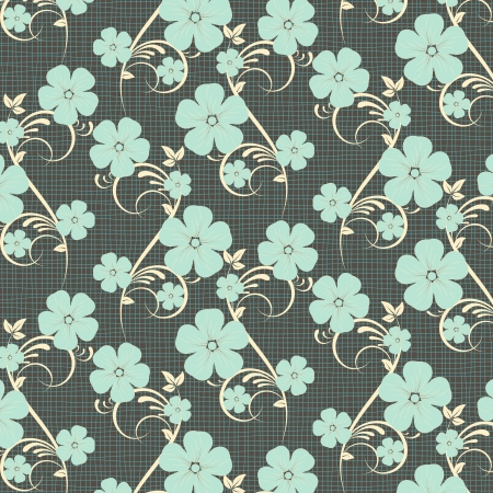 compendium: flower pattern background