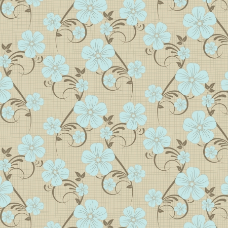 flower pattern background Vector