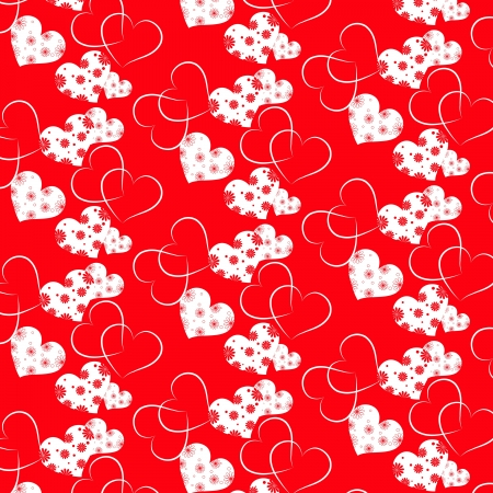 abstract Valentines day vector pattern background Vector